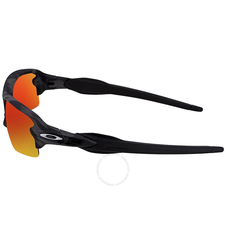 e5390762ea ... Oakley Flak 2.0 Prizm Ruby Rectangular Men s Asian Fit Sunglasses OO9271  927127 61 ...