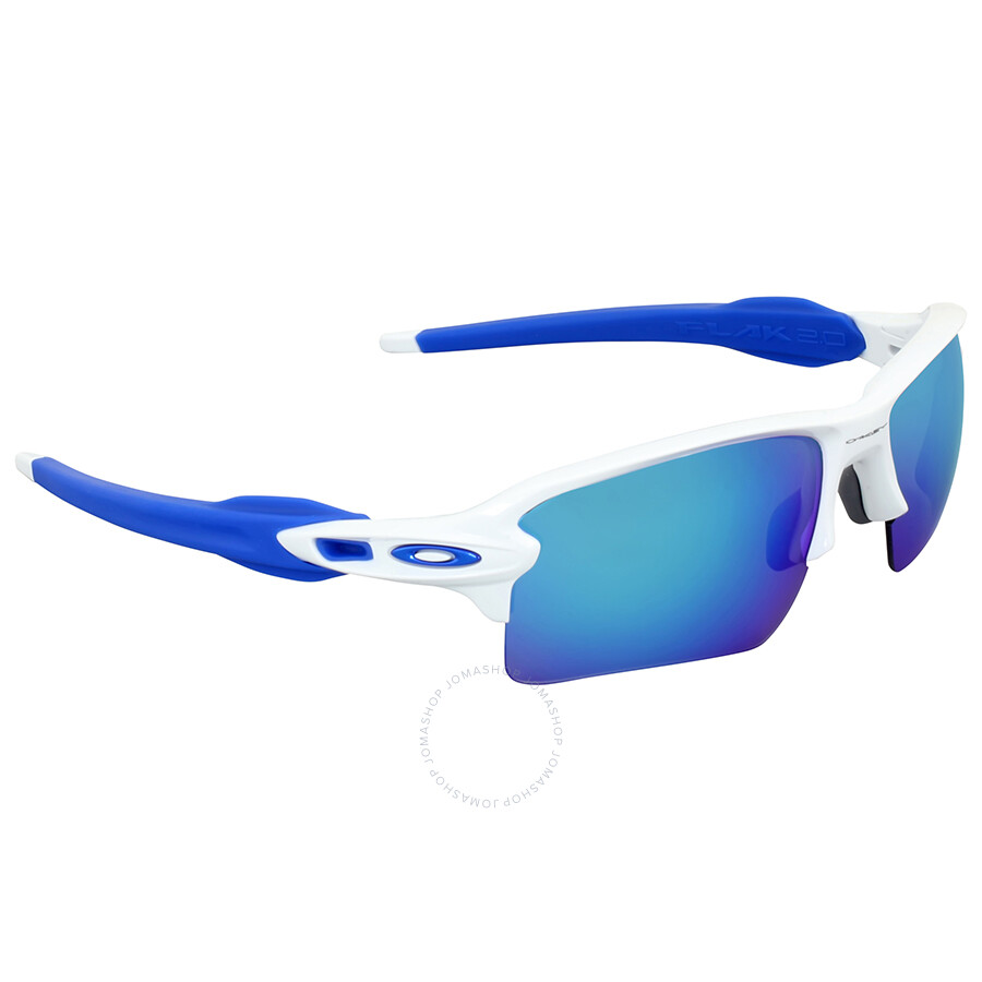 Oakley Flak 2.0 XL Sapphire Iridium Sport Sunglasses Item No. OO9188-918820-59