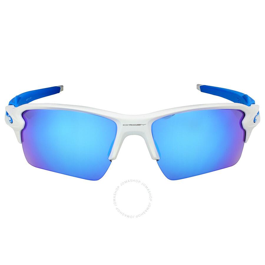 22b9a95a7c Oakley Flak 2.0 XL Sunglasses - Matte White Sapphire Item No. OO9188-918802- 59