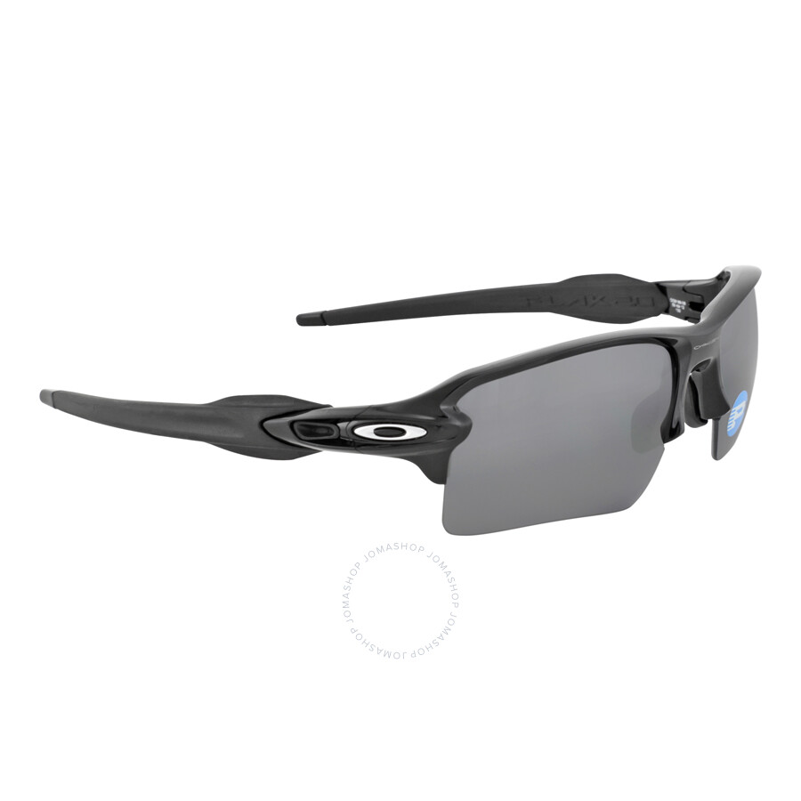 d4c98f9696 Oakley Flak 2.0 XL Sunglasses - Polished Black Black Polarized ...
