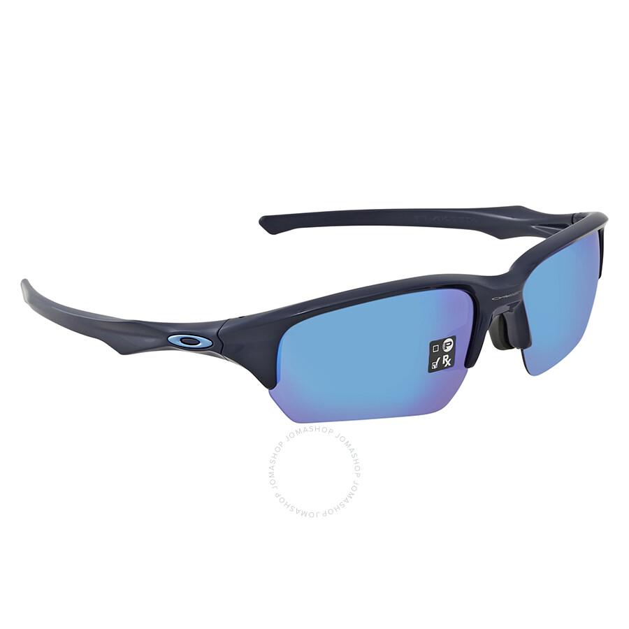 692a2dd0ec Oakley Flak Beta Sapphire Iridium Rectangular Asia Fit Men s Sunglasses  OO9372-937203-65 ...