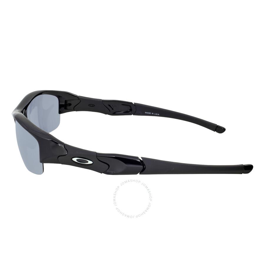 oakley flak jacket sunglasses jet  oakley flak jacket asia fit sunglasses jet black/black iridium
