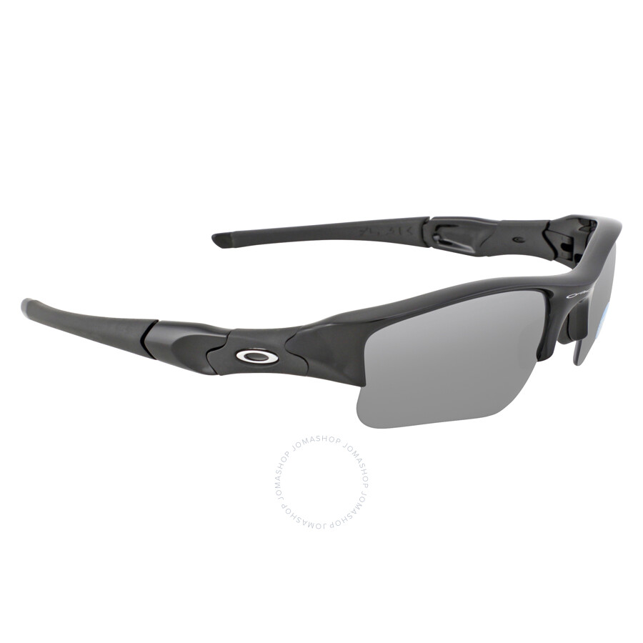 e8fdf2b5d5 Oakley Flak Jacket Sunglasses - Jet Black Black Polarized - Oakley ...