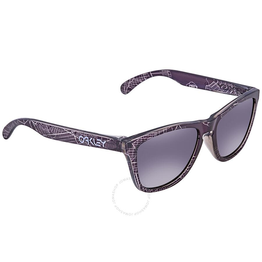 a209573796 Oakley Frogskin Asia Fit Prizm Black Wayfarer Men s Sunglasses OO9245  924568 54 ...