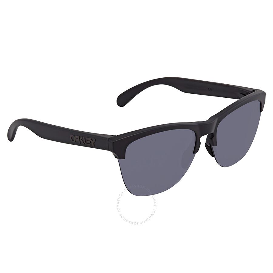 2e42a00cf5 Oakley Frogskin Lite Grey Round Men s Sunglasses OO9374 937401 63 ...