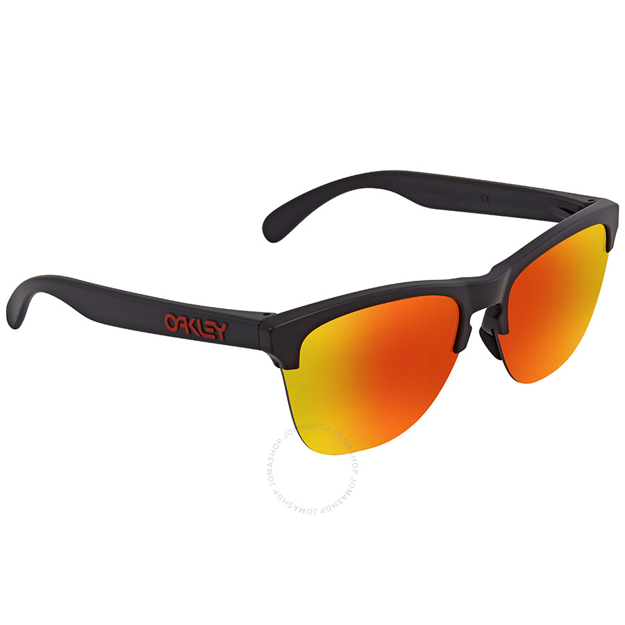044f6f34884 Oakley Frogskin Lite Prizm Ruby Round Men s Sunglasses OO9374 937404 63 ...