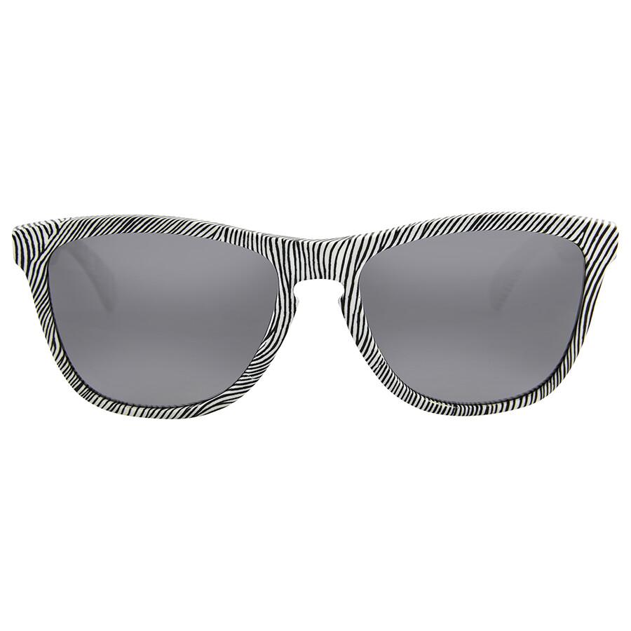 2f7ad7a344 Oakley Frogskins Fingerprint White Fingerprint Sunglasses Item No.  OO9013-901352 55