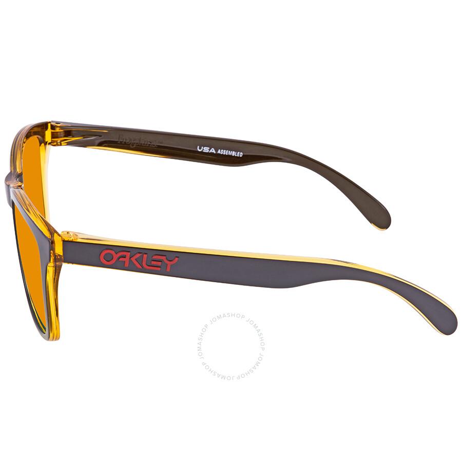 71a98e34ce0 ... Oakley Frogskins Fire Iridium Wayfarer Men s Sunglasses 0OO9013 9013D9  55