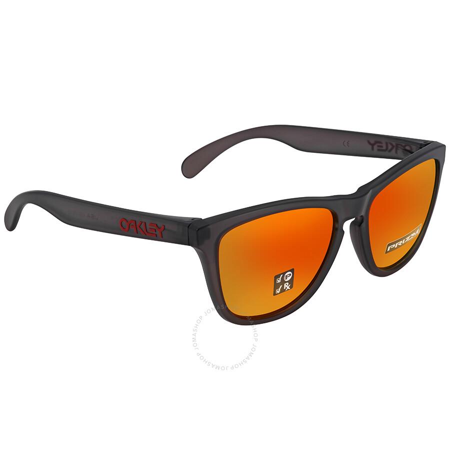 3a0d32b6bd Oakley Frogskins Polarized Prizm Ruby Sunglasses OO9013 9013F8 55 ...