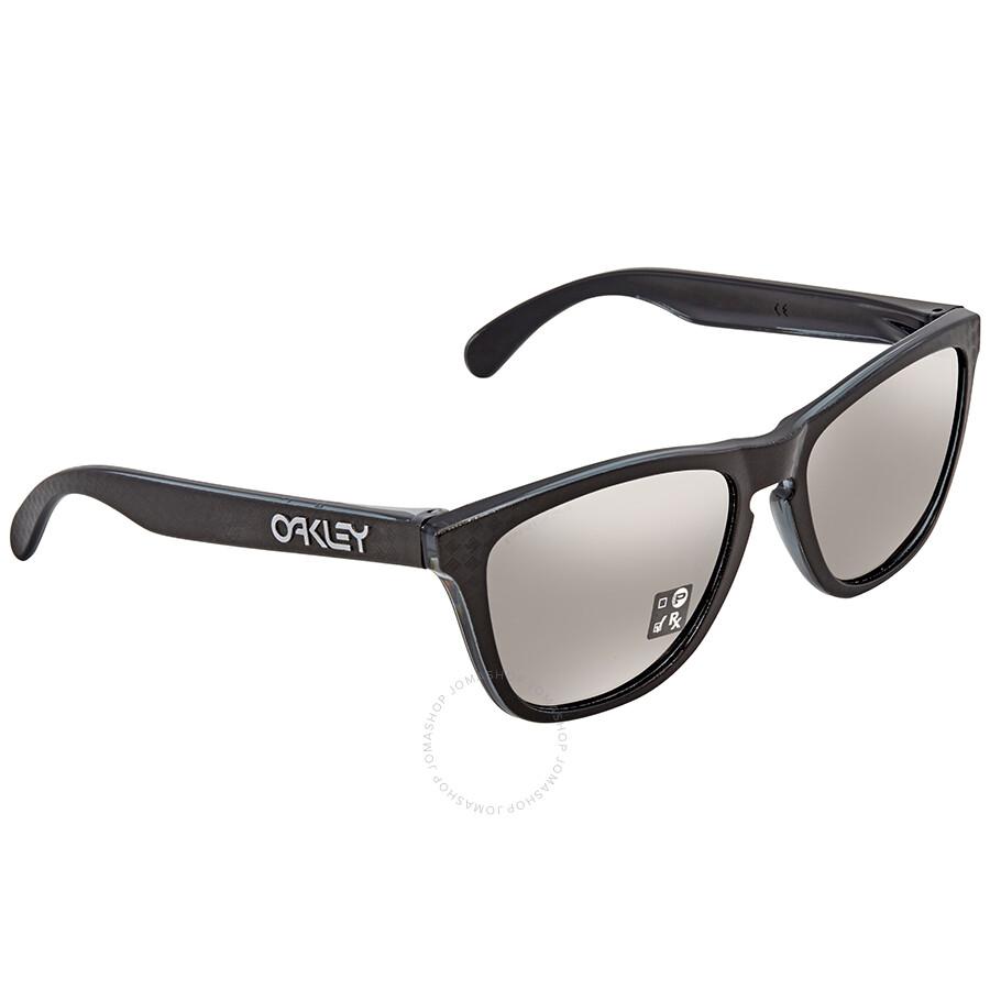 5dfec47cd86fb Oakley Frogskins Prizm Black Square Sunglasses OO9013 9013B8 55 ...