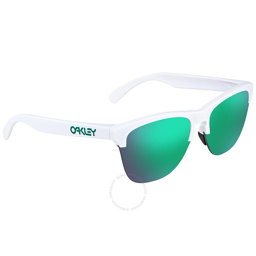 75ce35612aa Oakley Frogskins Prizm Jade Round Men s Sunglasses OO9374 937415 63 ...