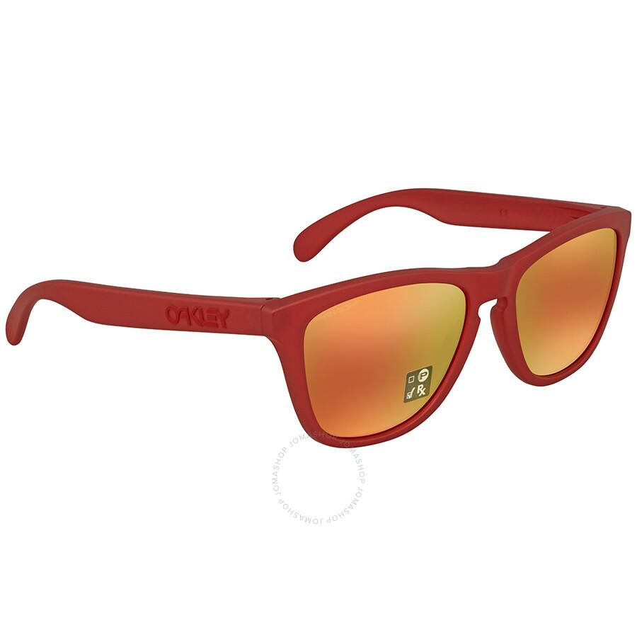 8a414da8bcba Oakley Frogskins Prizm Ruby Sunglasses OO9013 9013C8 55 - Oakley ...