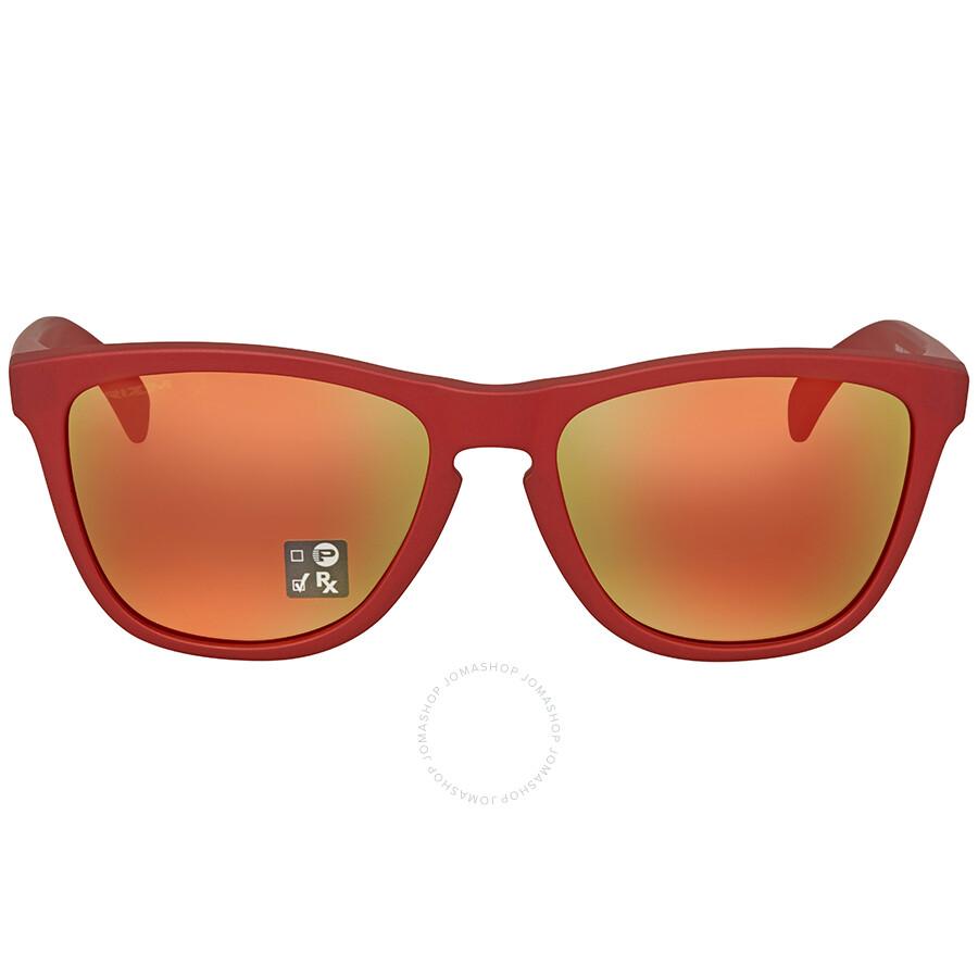 9a212b24d0 Oakley Frogskins Prizm Ruby Sunglasses OO9013 9013C8 55 - Oakley ...