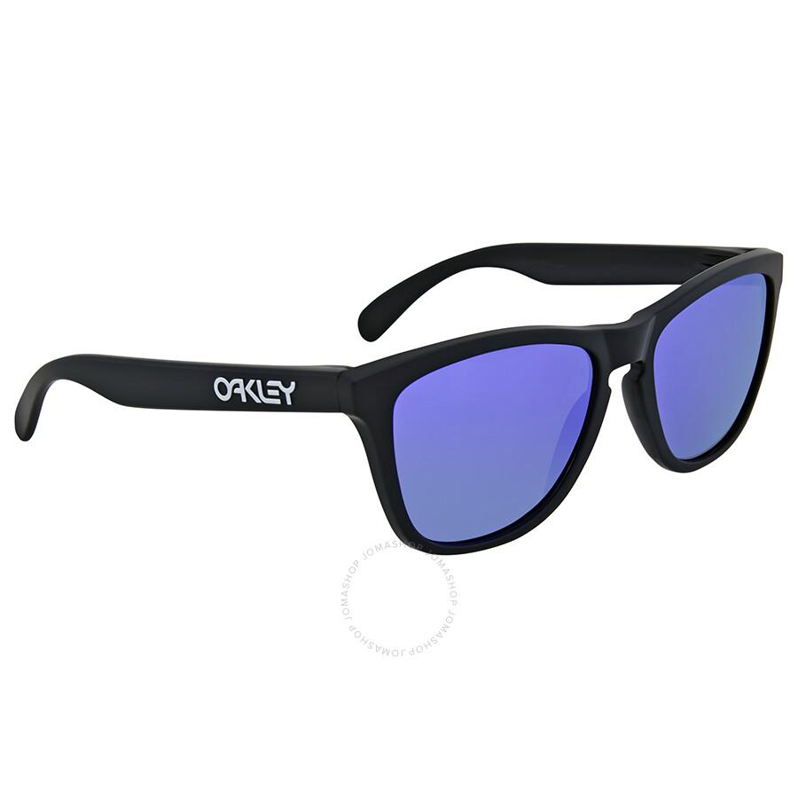 5869e7fa5ca Oakley Frogskins Violet Iridium Sunglasses OO9013-24-298-55 - Oakley ...