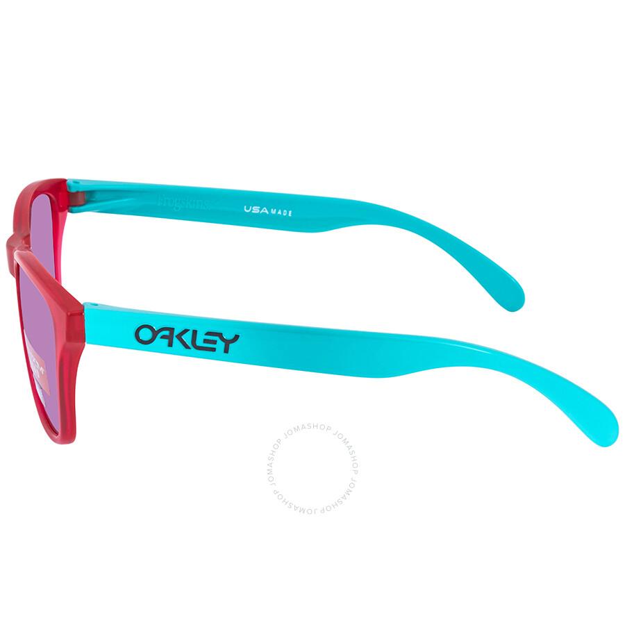 ecd1577b994 Oakley Frogskins XS Crystal Prizm Road Sunglasses OJ9006 900609 53 ...