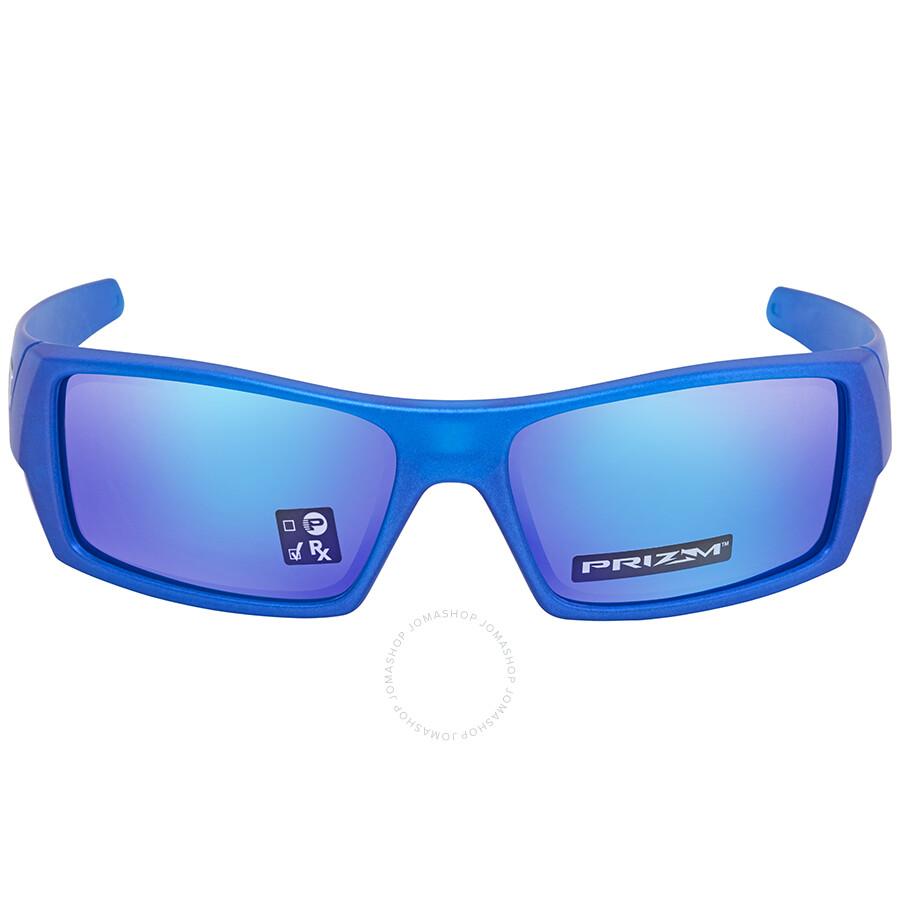 448a1047bfaf ... Oakley Gascan Prizm Sapphire Rectangular Sunglasses OO9014 901434 60 ...