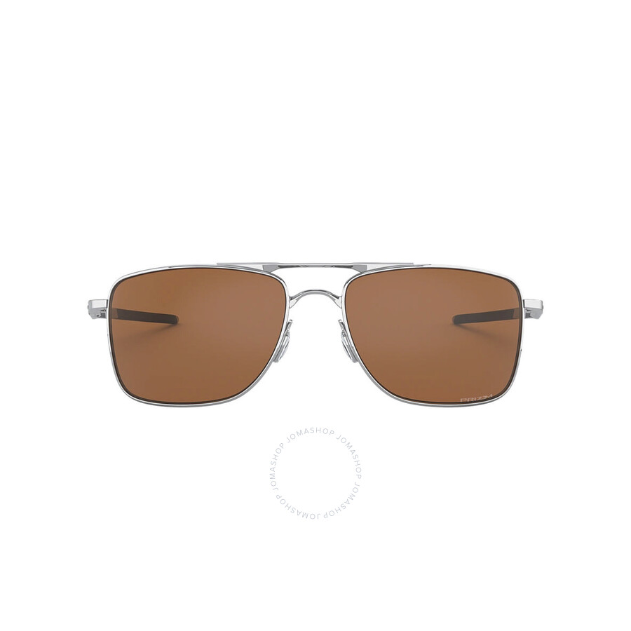 Oakley Gauge 8 >> Oakley Gauge 8 Prizm Tungsten Polarized Rectangular Men S Sunglasses 0oo4124 412409 57