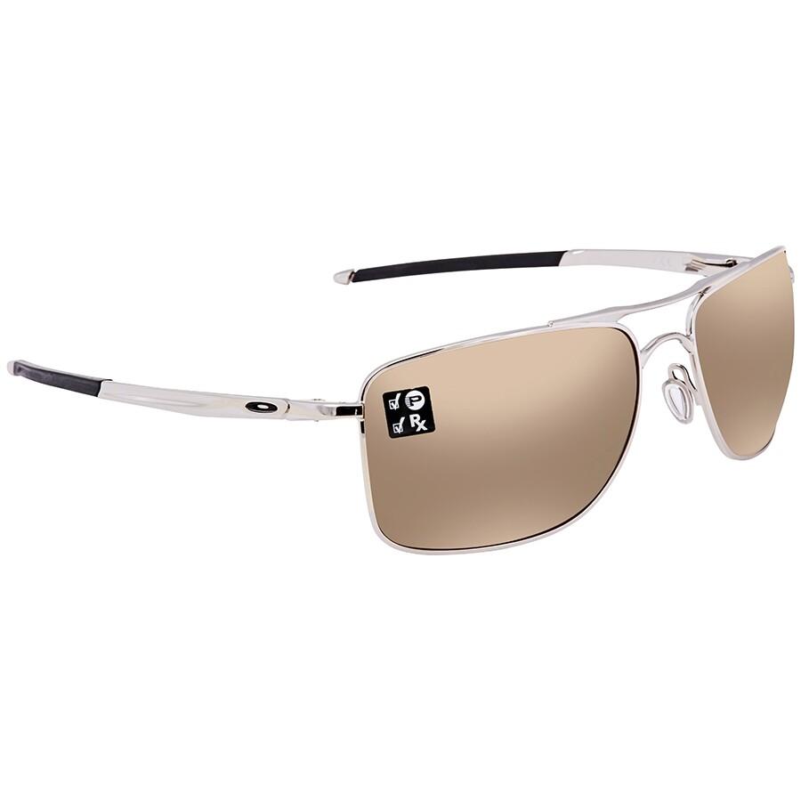 Oakley Gauge 8 >> Oakley Gauge 8 Tungsten Iridium Polarized Rectangular Men S Sunglasses Oo4124 412405 62