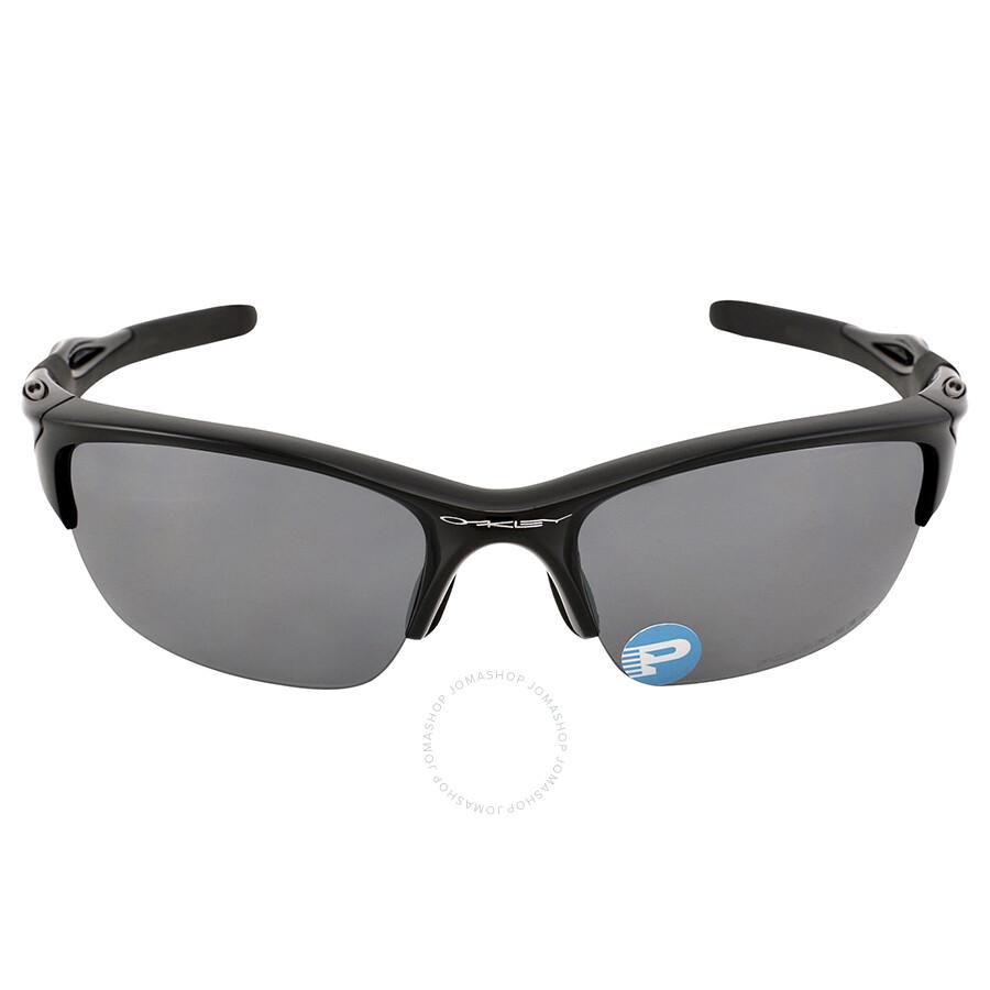 da65e4af78 oakley polarized half jacket 2.0 sunglasses polished black black iridium