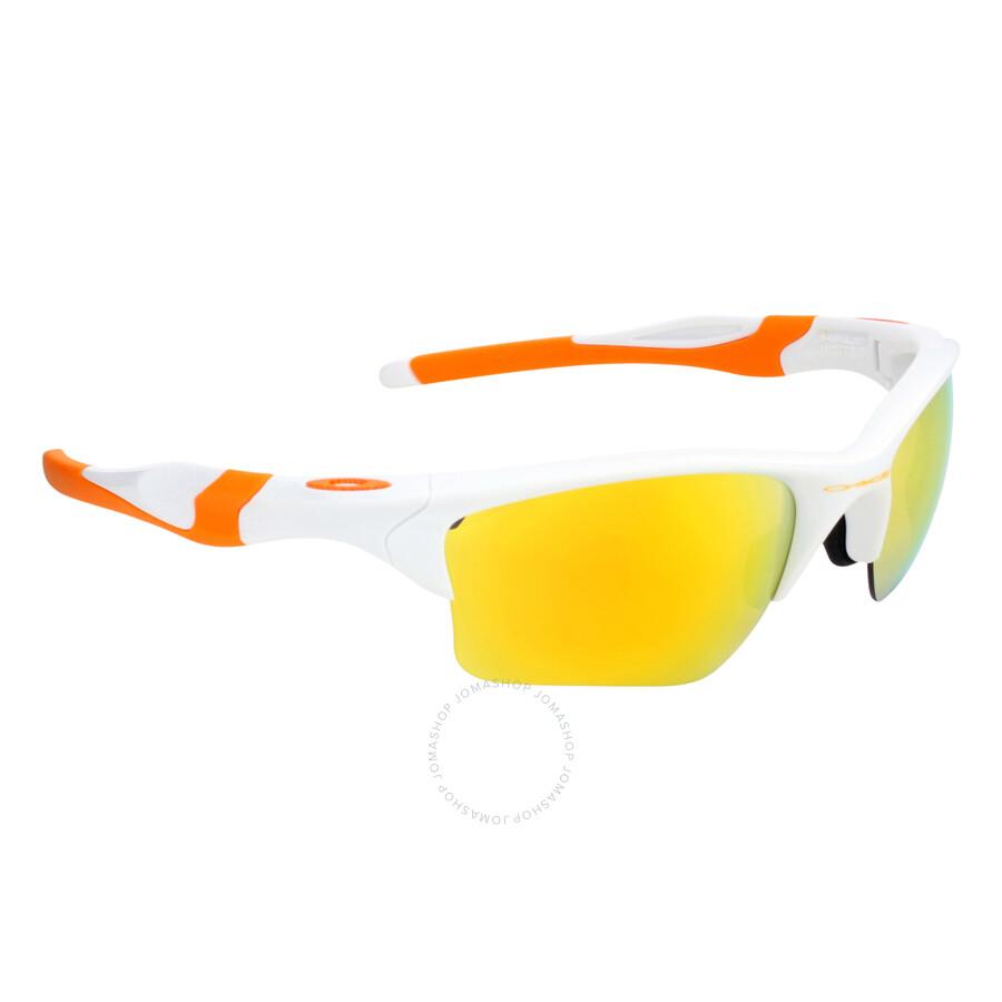 ce409e500f ... Oakley Half Jacket 2.0 XL Fingerprint Sunglasses - Polished White Fire  ...