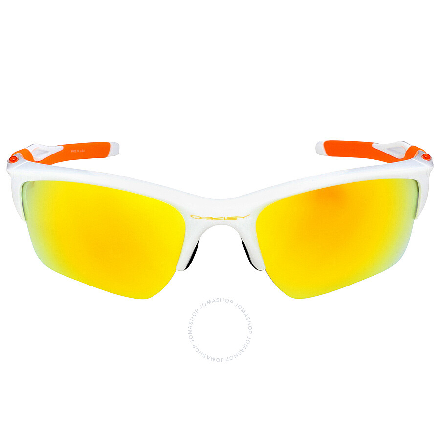 8d00a235c7 Oakley Half Jacket 2.0 XL Fingerprint Sunglasses - Polished White Fire Item  No. OO9154-915452-62