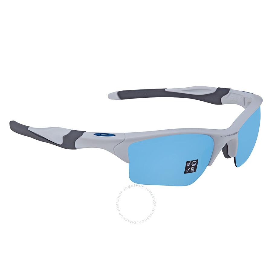 45aa5548bd Oakley Half Jacket 2.0 XL Prizm Deep Water Rectangular Men s Sunglasses  OO9154 915458 62 ...