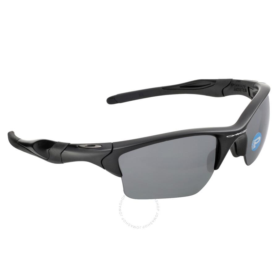 Oakley Half Jacket 2 0 Xl >> Oakley Half Jacket 2.0 XL Sunglasses - Matte Black/Black Polarized - Oakley - Sunglasses - Jomashop