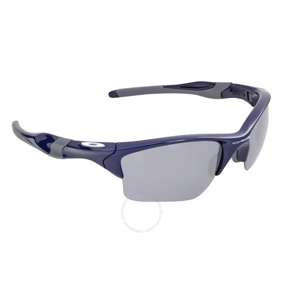 Oakley Half Jacket 2 0 Xl >> Oakley Half Jacket 2.0 XL Sunglasses - Polished Navy/Black - Oakley - Sunglasses - Jomashop