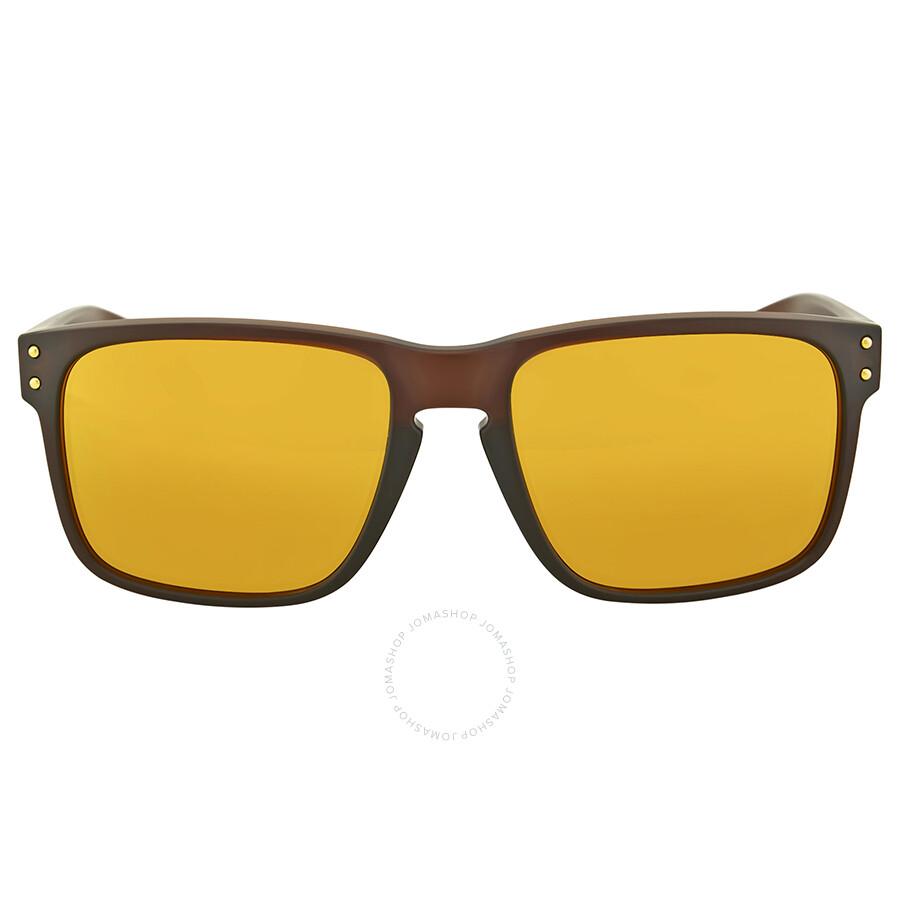 a4f4dc3cbb Oakley Holbrook Asia Fit Matte Root Beer Sunglasses Item No.  OO9244-924405-56