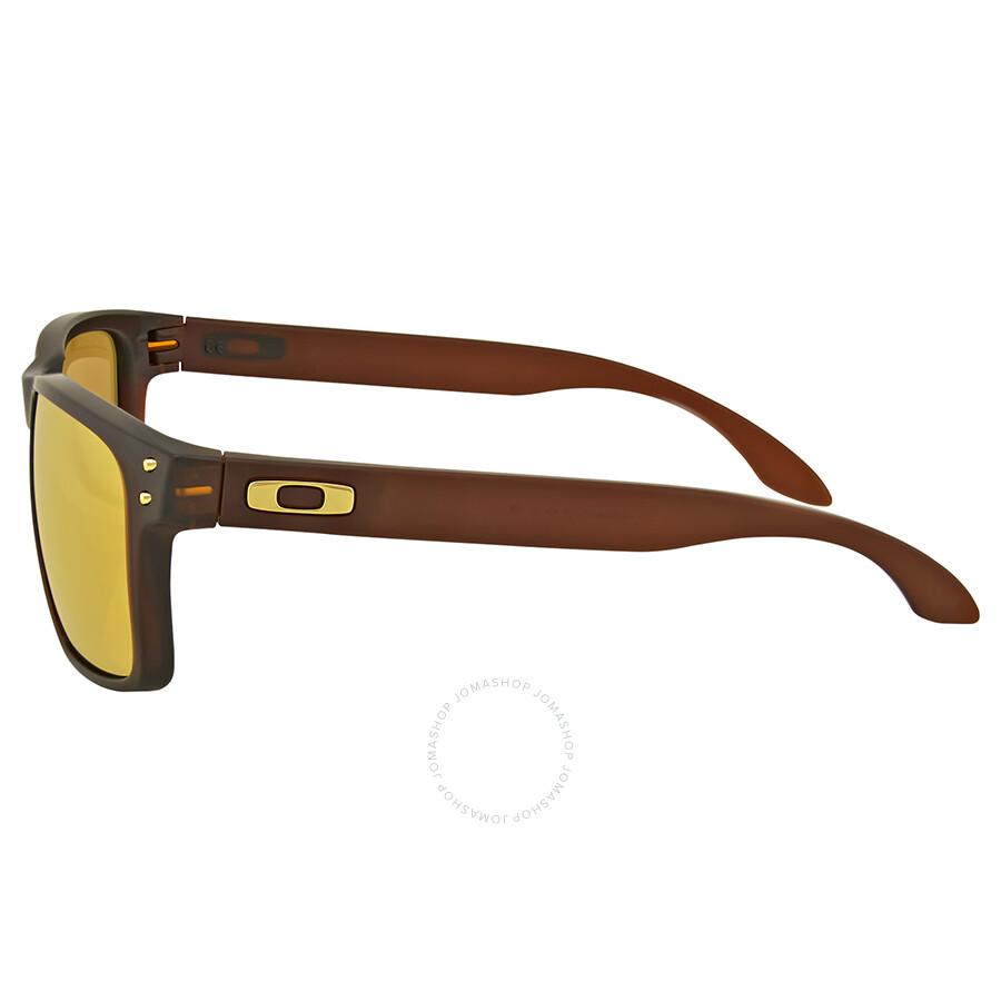 oakley holbrook sunglasses matte rootbeer bronze polarized