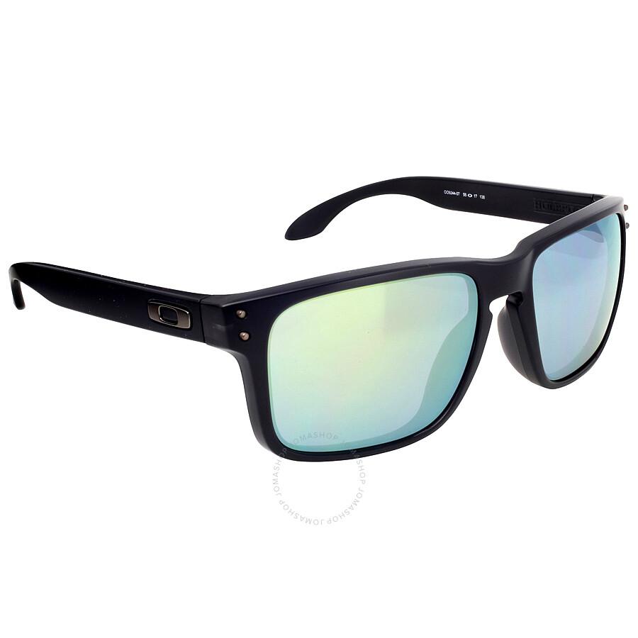 00f23fccfdb ... Oakley Holbrook Asia Fit Sunglasses - Black Ink Emerald Iridium ...