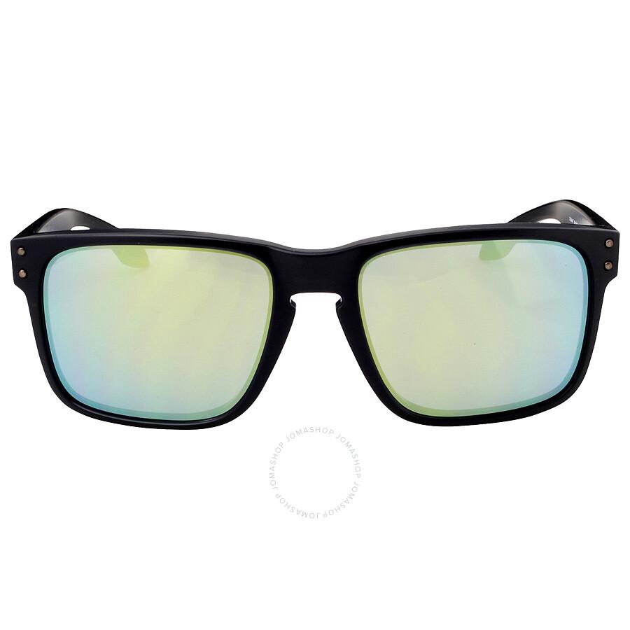8e98d903b0b Oakley Holbrook Asia Fit Sunglasses - Black Ink Emerald Iridium Item No.  0OO9244-924407-56