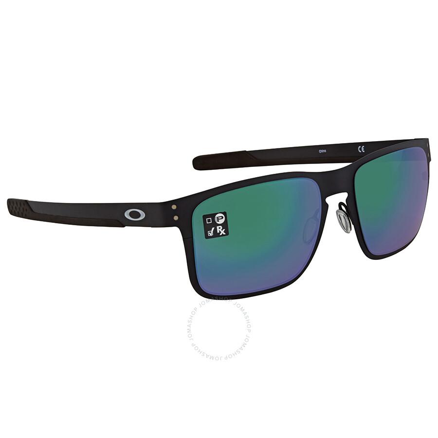 3949aac293 Oakley Holbrook Jade Iridium Square Men s Sunglasses OO4123-412304-55 ...