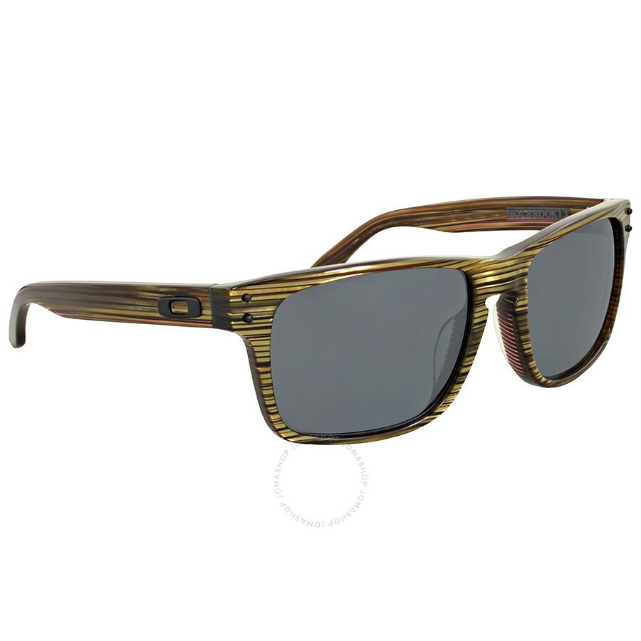 ... Oakley Holbrook LX Polarized Banded Green Square Sunglasses ...