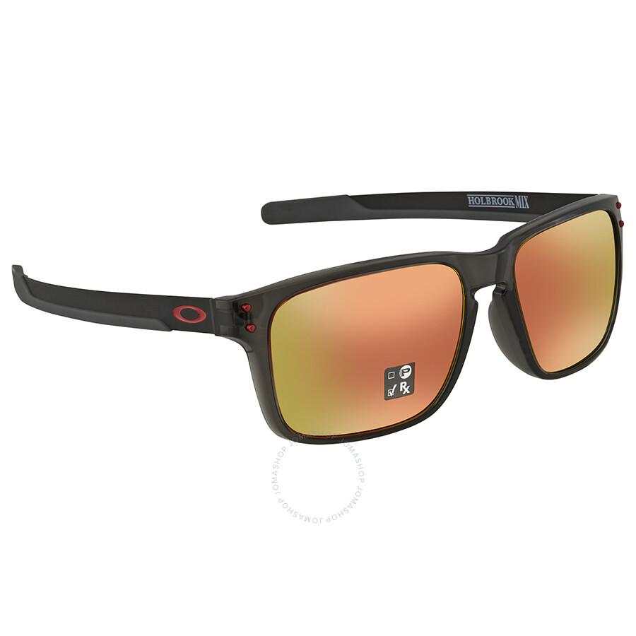 ef51afc585 Oakley Holbrook Mix (Asia Fit) Prizm Ruby Rectangular Men s Sunglasses  OO9385 938504 57 ...