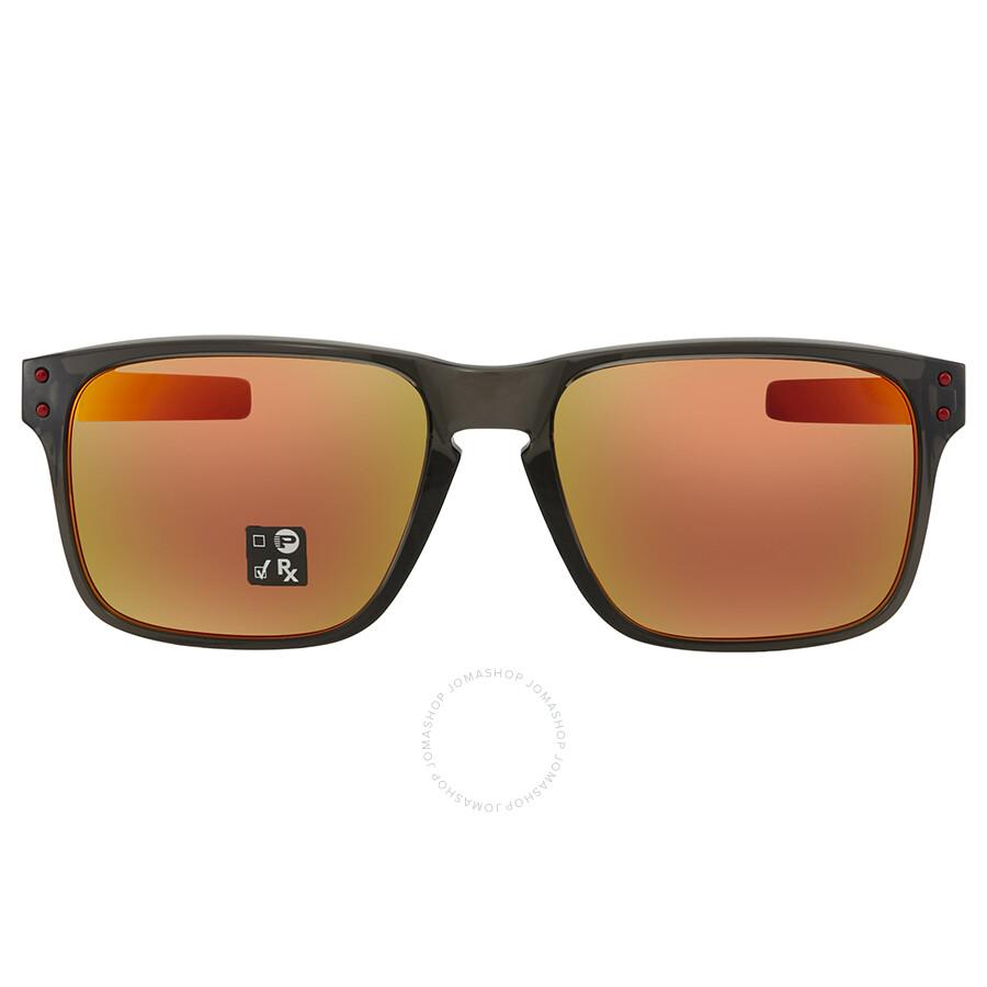4a3db4d469e ... Oakley Holbrook Mix (Asia Fit) Prizm Ruby Rectangular Men s Sunglasses  OO9385 938504 57 ...