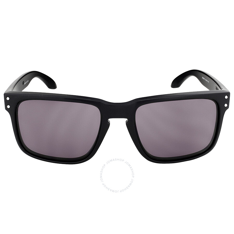 6b1e91bc08 Oakley Holbrook Sunglasses - Matte Black Grey - Oakley - Sunglasses ...