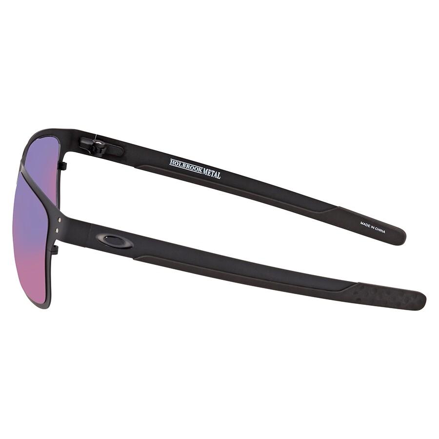 Oakley Holbrook Positive Red Iridium Sunglasses Men's ...