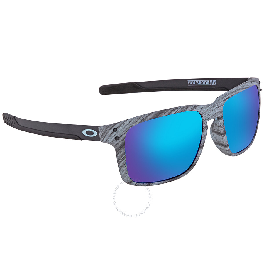 ebbbebecd3 Oakley Holbrook Prizm Sapphire Rectangular Men s Sunglasses OO9384 938412 57  ...