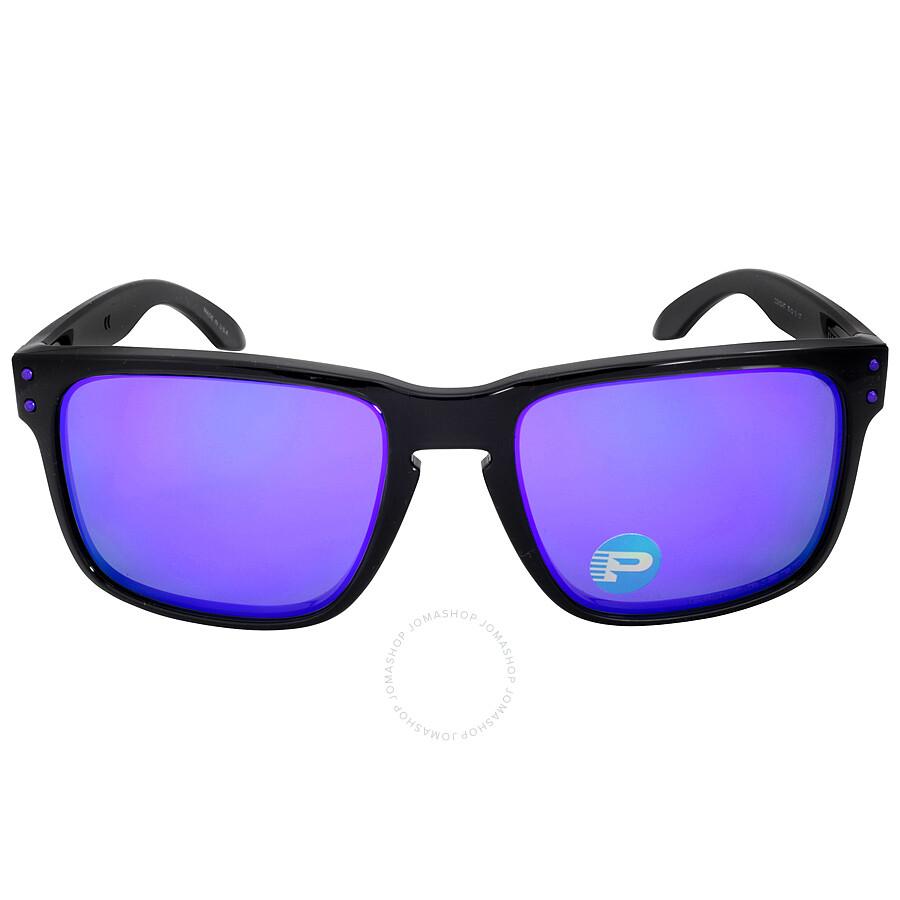 4de98f8d77 Oakley Holbrook Sunglasses - Black Ink Purple Polarized Item No. OO9102 -910267-55