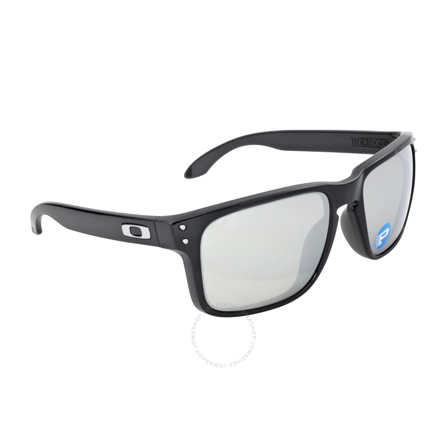 4222529235 Oakley Holbrook Sunglasses - Black Ink Silver Polarized - Oakley ...