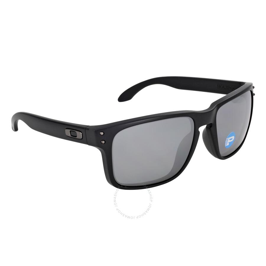 f7af59c668 Oakley Holbrook Sunglasses - Matte Black Black Polarized - Oakley ...