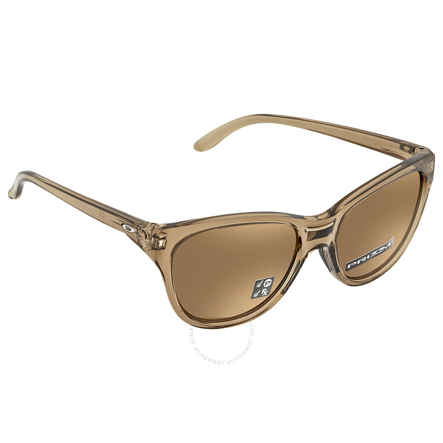 5f4351e034 Oakley Hold Out Prizm Tungsten Cat Eye Ladies Sunglasses OO9357 935707 55  ...