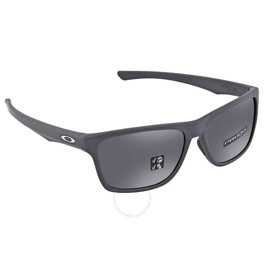 9a2af6ec5fe Oakley Holston Prizm Black Rectangular Men s Sunglasses OO9334 933411 58 ...
