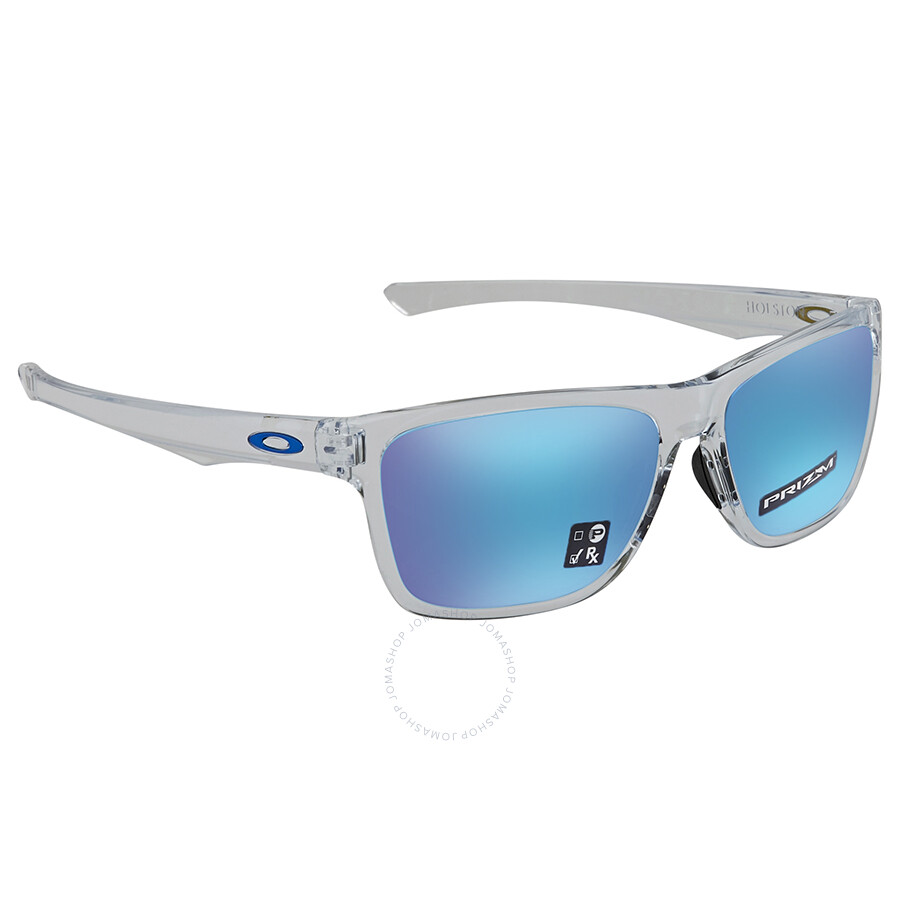 b19db302dd2 Oakley Holston Prizm Sapphire Rectangular 58mm Sunglasses 0OO9334 933413 58  ...
