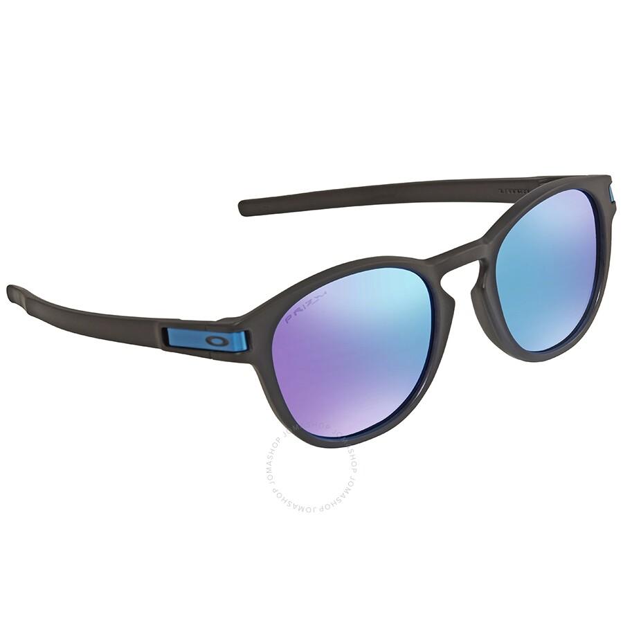 fae74978ad Oakley Latch Asia Fit Prizm Sapphire Sunglasses OO9349-934914-53 ...