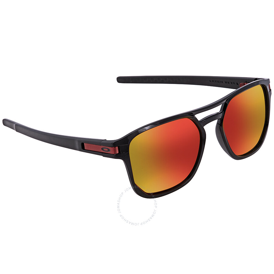 5266680468 Oakley Latch Beta Prizm Ruby Square Men s Sunglasses OO9436 943607 54 ...