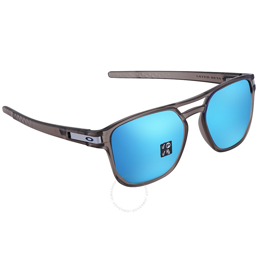 7379422b7b Oakley Latch Beta Prizm Sapphire Square Men s Sunglasses OO9436 943606 54  ...