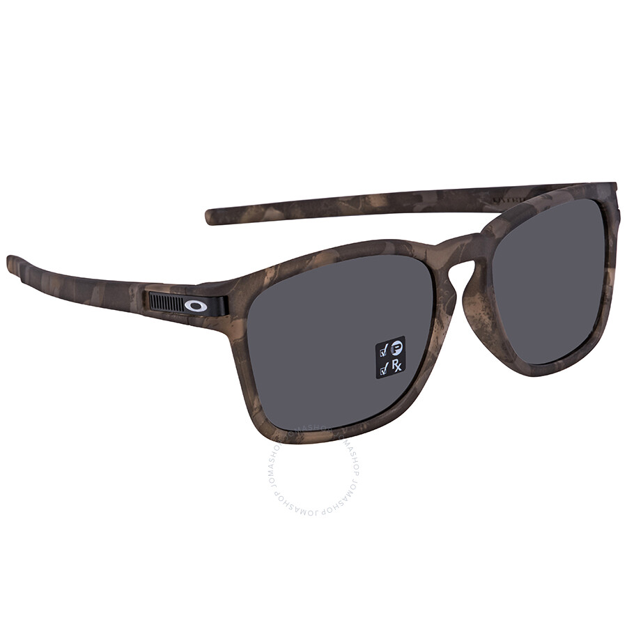 e7284da86 Oakley Latch Grey Square Polarized Men S Sunglasses Oo9358 935817 55