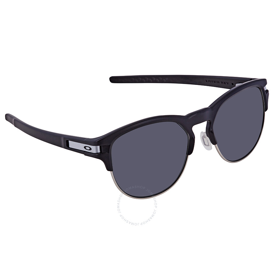 76428a3458 Oakley Latch Key Prizm Grey Round Men s Sunglasses OO9394 939401 55 ...
